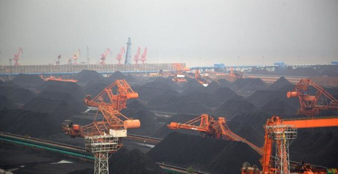 Qinhuangdao Coal Port in China
